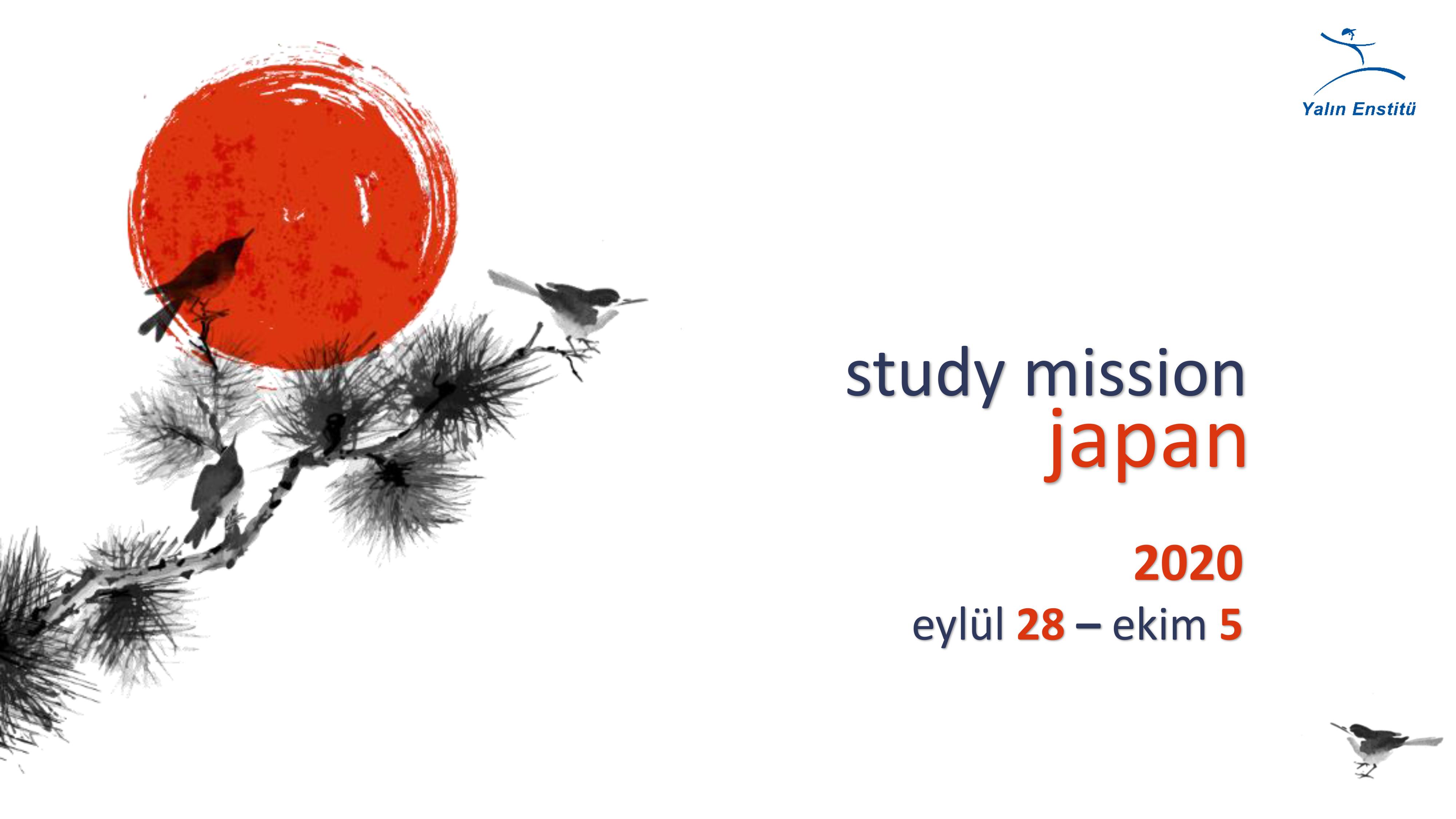 Study Mission Japan 2020