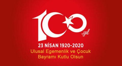 23 Nisam Ulusal Egemenlik ve Çocuk Bayramı Kutlu Olsun