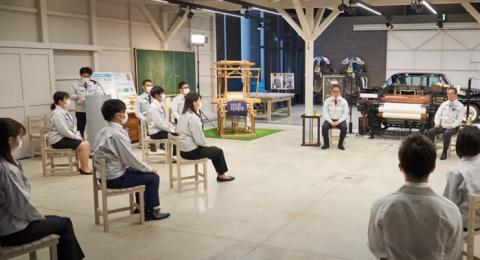 Akio Toyotanın yeni işe giren çalışanlara hoşgeldin konuşması